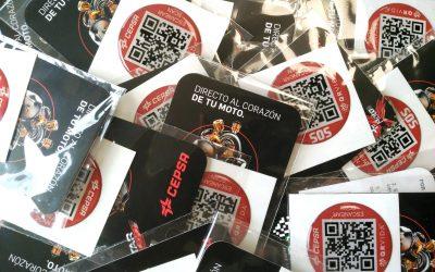 QRVida y Cepsa ofrecen seguridad a los visitantes al Gran Premio de España de Moto GP